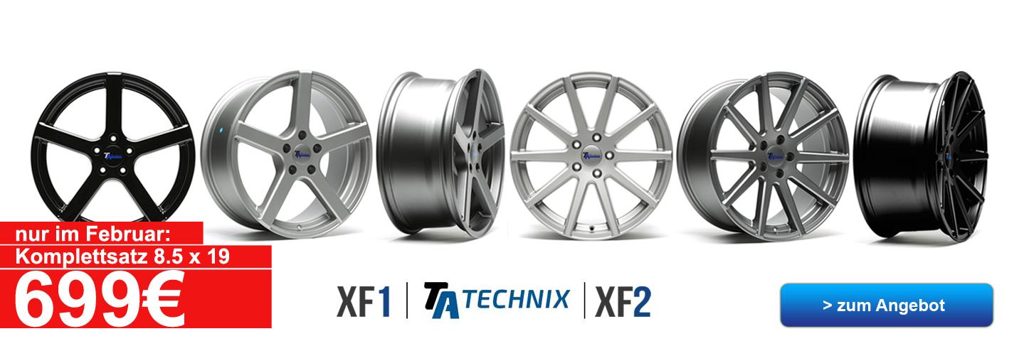 TA TECHNIX XF1 Felgen