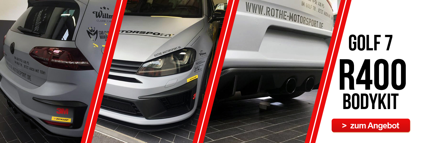 Golf 7 R400 BodyKit